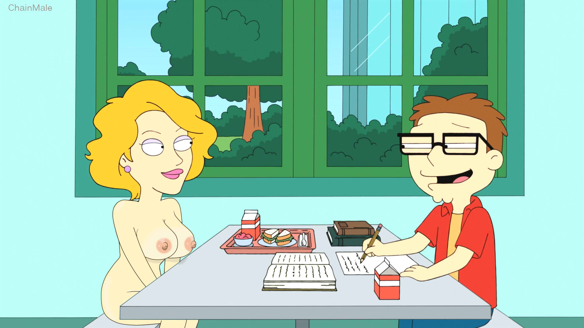 Animated American Dad Porn co/ promotions