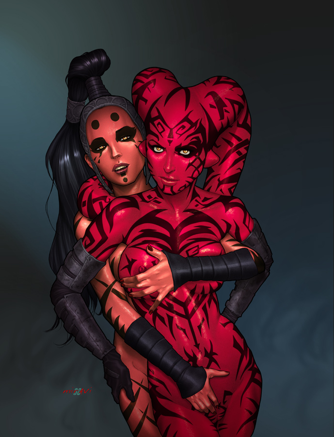 Star Wars - Darth Talon & Darth Maladi.